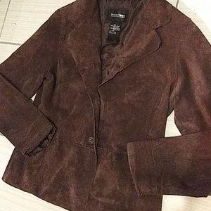 Brandon Thomas 100% Real Leather Jacket Women Lg
